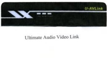 U-AVLINK LAN WLAN POWER ULTIMATE AUDIO VIDEO LINK