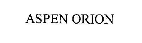 ASPEN ORION