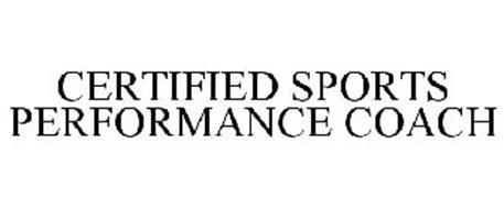 CERTIFIED SPORTS PERFORMANCE COACH