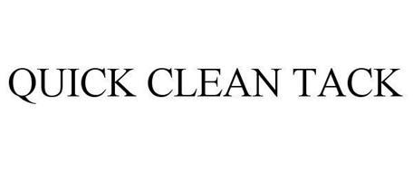 QUICK CLEAN TACK