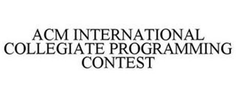 ACM INTERNATIONAL COLLEGIATE PROGRAMMING CONTEST