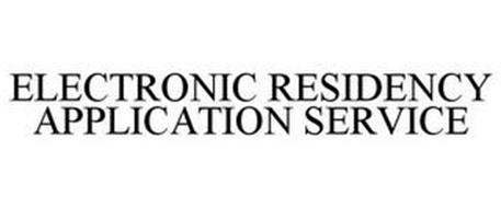 ELECTRONIC RESIDENCY APPLICATION SERVICE