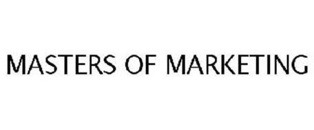 MASTERS OF MARKETING