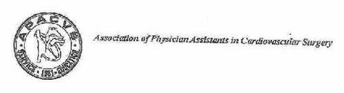 ASSOCIATION OF PHYSICIAN ASSISTANTS IN CARDIOVASCULAR SURGERY APACVS. SERVICE 1981 EDUCATION