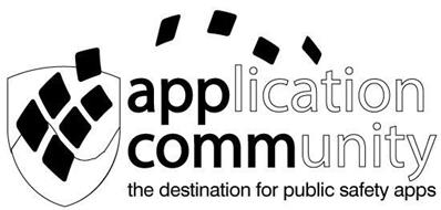 APP COMM APPLICATION COMMUNITY THE DESTINATION FOR PUBLIC SAFETY APPS