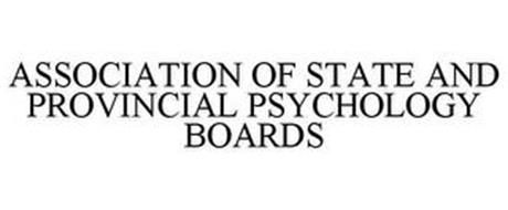 ASSOCIATION OF STATE AND PROVINCIAL PSYCHOLOGY BOARDS