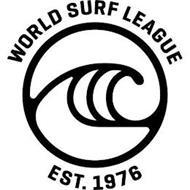 WORLD SURF LEAGUE EST. 1976