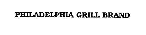 PHILADELPHIA GRILL BRAND