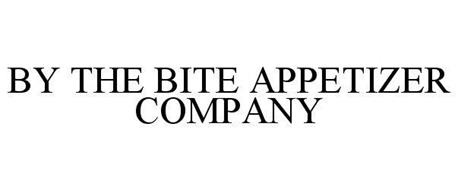 BY THE BITE APPETIZER COMPANY