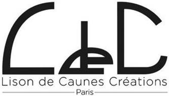 L DE C LISON DE CAUNES CRÉATIONS PARIS