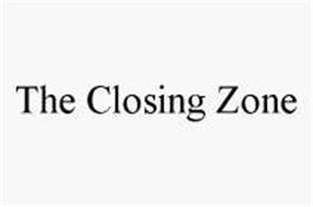 THE CLOSING ZONE