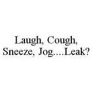 LAUGH, COUGH, SNEEZE, JOG..LEAK?