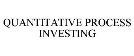 QUANTITATIVE PROCESS INVESTING