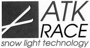 ATK RACE SNOW LIGHT TECHNOLOGY