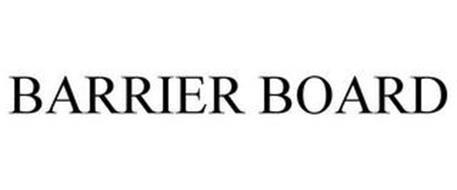 BARRIER BOARD