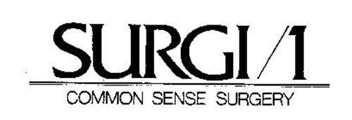 SURGI/1 COMMON SENSE SURGERY