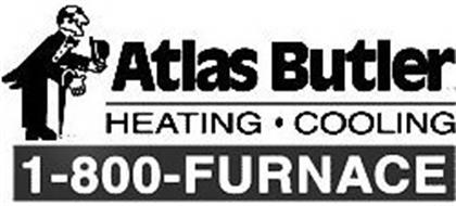 Atlas Butler Heating 183 Cooling 1 800 Furnace Trademark Of