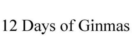 12 DAYS OF GINMAS