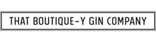 THAT BOUTIQUE-Y GIN COMPANY