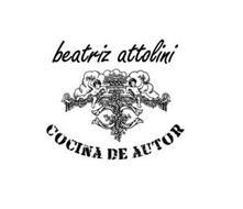 BEATRIZ ATTOLINI COCINA DE AUTOR