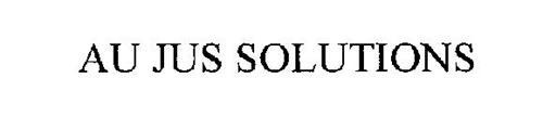 AU JUS SOLUTIONS