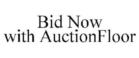 BID NOW WITH AUCTIONFLOOR