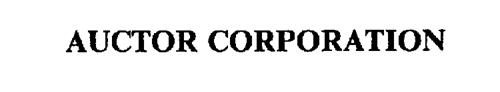 AUCTOR CORPORATION