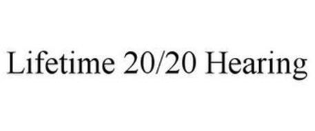 LIFETIME 20/20 HEARING