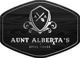 A A AUNT ALBERTA'S + SPICE HOUSE