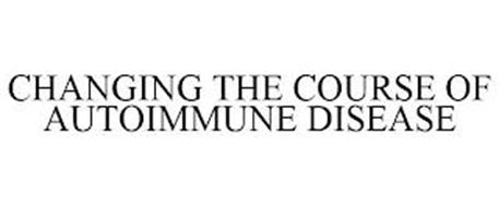 CHANGING THE COURSE OF AUTOIMMUNE DISEASE