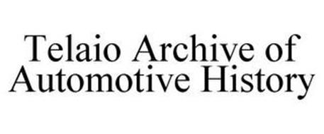 TELAIO ARCHIVE OF AUTOMOTIVE HISTORY