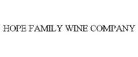 HOPE FAMILY WINE COMPANY