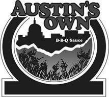AUSTIN'S OWN B-B-Q SAUCE