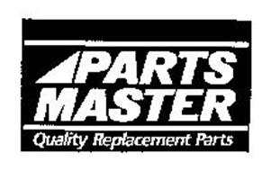 PARTS MASTER QUALITY REPLACEMENT PARTS