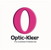 O OPTIC-KLEER THE AUTOGLASS PROFESSIONALS