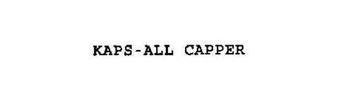 KAPS-ALL CAPPER