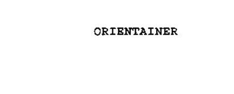 ORIENTAINER