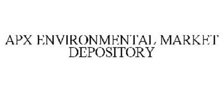 APX ENVIRONMENTAL MARKET DEPOSITORY