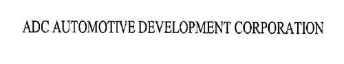 ADC AUTOMOTIVE DEVELOPMENT CORPORATION