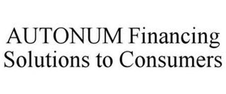 AUTONUM FINANCING SOLUTIONS TO CONSUMERS