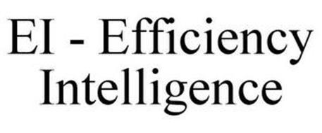 EI - EFFICIENCY INTELLIGENCE