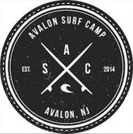 AVALON SURF CAMP AVALON, NJ EST. 2014 A S C