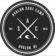 AVALON SURF CAMP AVALON, NJ EST. 2014 AS C
