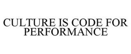 CULTURE IS CODE FOR PERFORMANCE