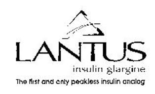 LANTUS INSULIN GLARGINE THE FIRST AND ONLY PEAKLESS INSULIN ANALOG