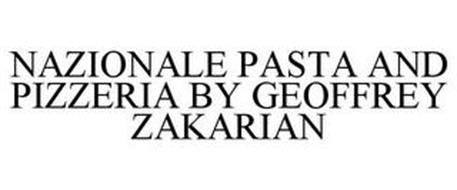NAZIONALE PASTA AND PIZZERIA BY GEOFFREY ZAKARIAN