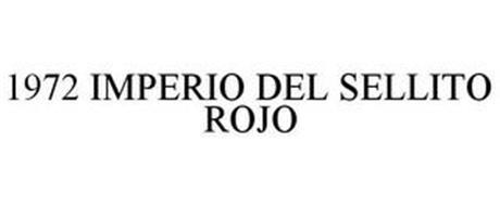 1972 IMPERIO DEL SELLITO ROJO