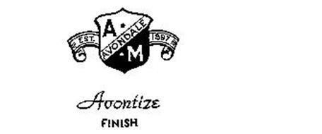 AVONDALE A.M. AVONTIZE FINISH EST. 1897
