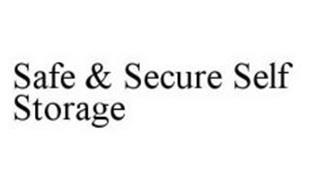 SAFE & SECURE SELF STORAGE