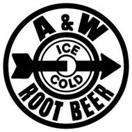 A&W ICE COLD ROOT BEER